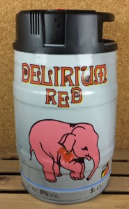 Delirium Red 5 L Kegg
