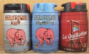 Brewery Huyghe Delirium Kegs 5 L