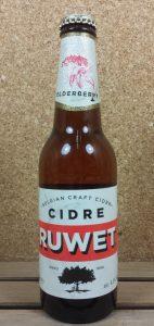 Cidre Ruwet Elderberry 33 cl