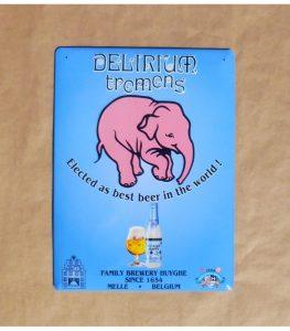 delirium-tremens-beer-sign-in-tin-metal