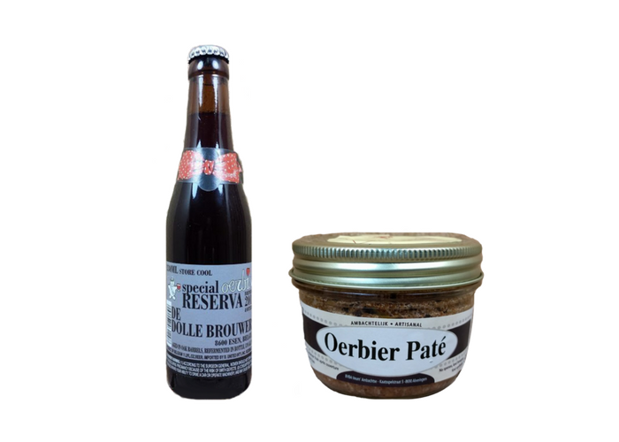 The De Dolle Oerbier Beer & Paté Comb