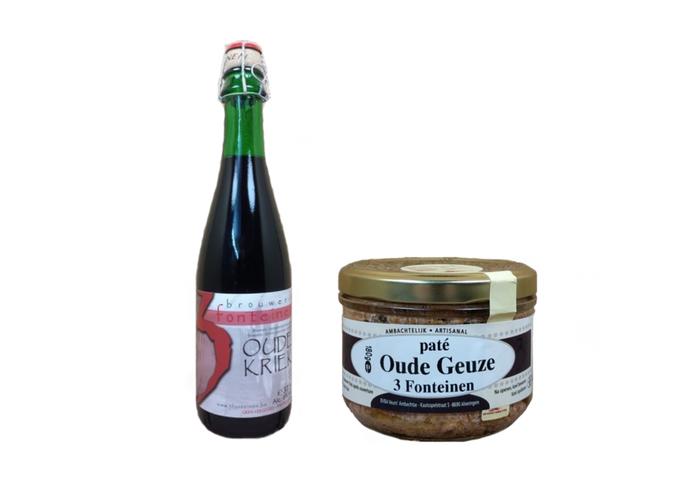 The 3 Fonteinen Oude Geuze Beer & Paté Combo