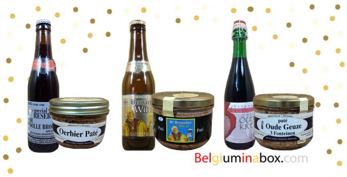 3 Tasty Belgian Craft Beers & Paté Combos