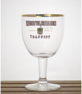 Westvleteren Trappist Glass 2013 White lettering 33 cl