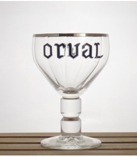 Orval Trappist Glass Sliver Rim 33 cl
