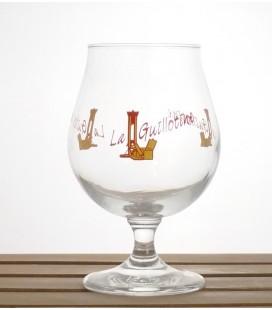 Huyghe La Guillotine (Yellow logo) Glass 25 cl