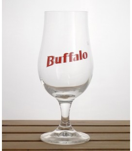 Van Den Bossche Buffalo Glass 33 cl (red lettering)