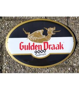 Gulden Draak 9000 Beer - sign in Tin-Metal
