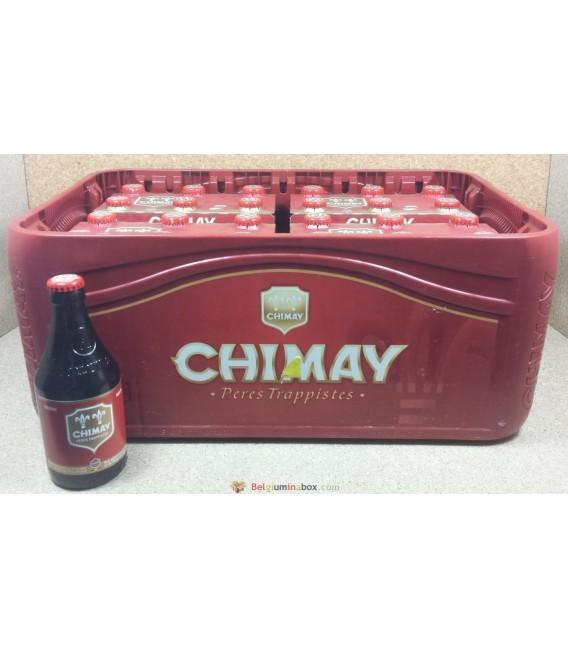 Chimay Red Cap (Brune) full crate 24x33cl