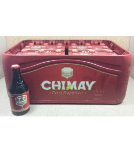Chimay Red Cap (Brune) full crate 24 x 33 cl
