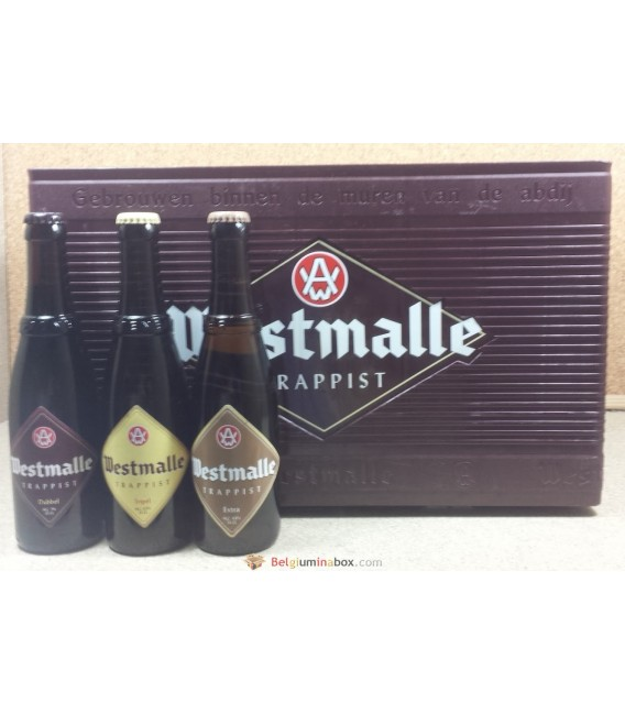 Westmalle mixed crate 24 x 33 cl