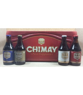 Chimay mixed crate (Red-White-Blue-Gold) 24 x 33 cl