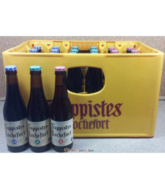 Rochefort mixed crate 24 x 33 cl