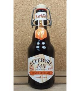 Barbar Cuvée Spéciale Lefebvre 140 year 33 cl