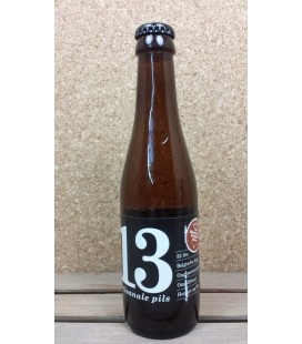13 Artisanal Pils black label 25 cl