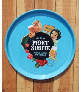 Mort Subite beer-tray
