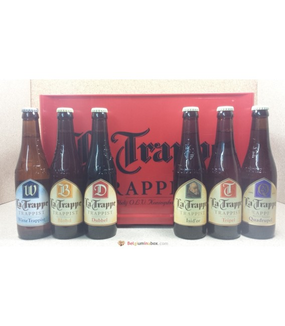 La Trappe mixed crate 24 x 33 cl (6x4)