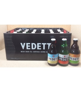Vedett mixed crate (Blond-White-IPA) 24x33 cl