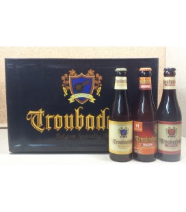 Troubadour mixed crate (blond-magma-obscura) 24 x 33 cl
