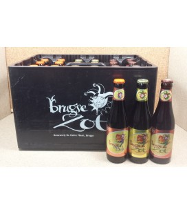 Brugse Zot (3x8 Blond-Dubbel-Bok) 24 x 33 cl