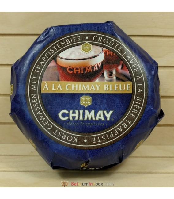 Chimay Trappist Cheese made with Chimay Blue 300 gr