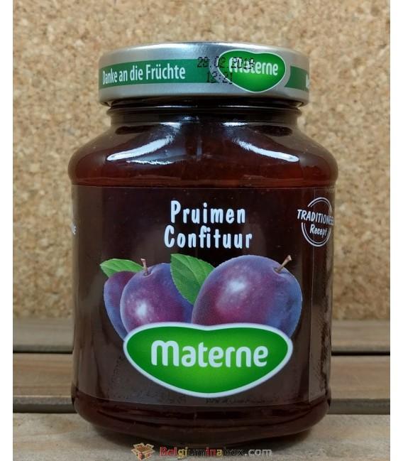 Materne Pruimen Confituur (jam of plums) 450 gr
