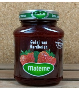 Materne Gelei van Aarbeien (strawberry jelly) 450 gr