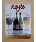 Keyte beer-sign in tin-metal