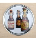 Barbar & Hopus Beer Tray (in metal)