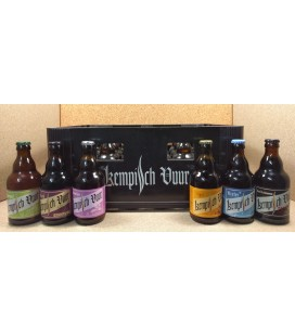 Kempsch Vuur mixed crate 24 x 33 cl