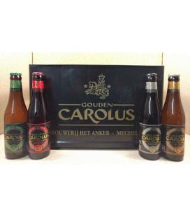 Gouden Carolus (4x6) mixed crate 24 x 33 cl