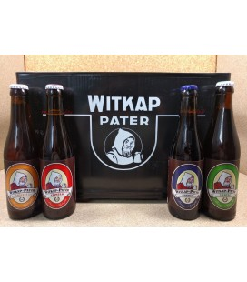 Witkap-Pater mixed crate (4 x6) 24 x 33 cl