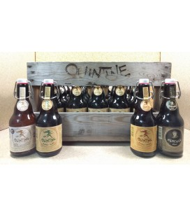 Quintine mixed crate (4x5) 20 x 33 cl