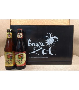 Brugse Zot mixed crate (Blond-Dubbel) 24 x 33 cl