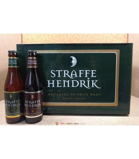 Straffe Hendrik (Tripel-Quadrupel) mixed crate 24 x 33 cl
