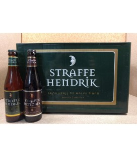 Straffe Hendrik mixed crate (Tripel-Quadrupel) 24 x 33 cl