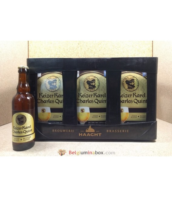 Charles Quint-Keizer Karel Goud-Blond full crate 24 x 33 cl
