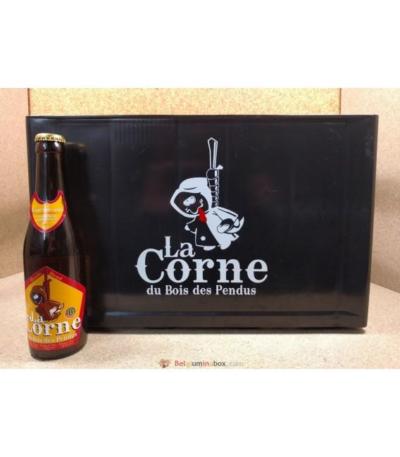 La Corne du Bois des Pendus Blonde full crate 24 x 33 cl