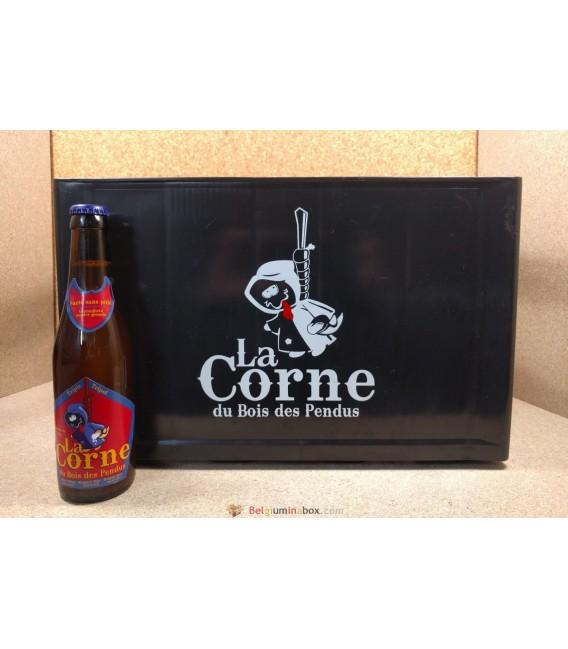 La Corne du Bois des Pendus Triple full (plastic) crate 24 x 33 cl
