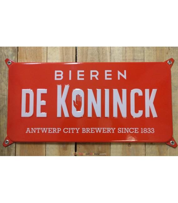 De Koninck Bieren Beer-Sign in  Emaille