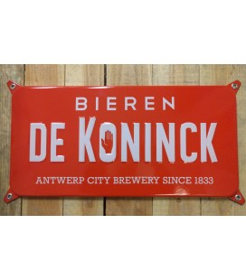 De Koninck Bieren Beer-Sign in  Emaille