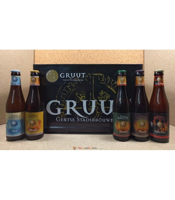 Gruut mixed crate (5 styles) 24 x 33 cl