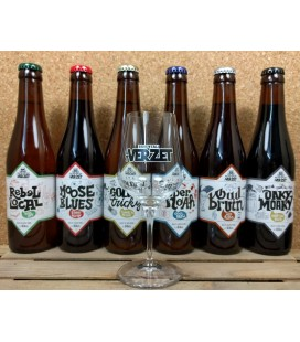 Verzet Brewery Pack (6x33cl) + FREE Verzet Glass