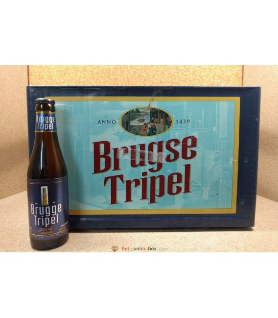 Brugge Tripel full crate 24 x 33 cl