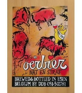 De Dolle Oerbier Nat en Straf (new) Poster