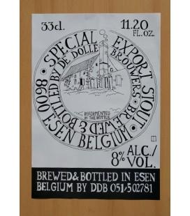 De Dolle Special Export Stout Poster