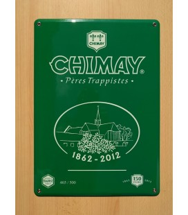 Chimay Père Trappistes beer-sign in emaille
