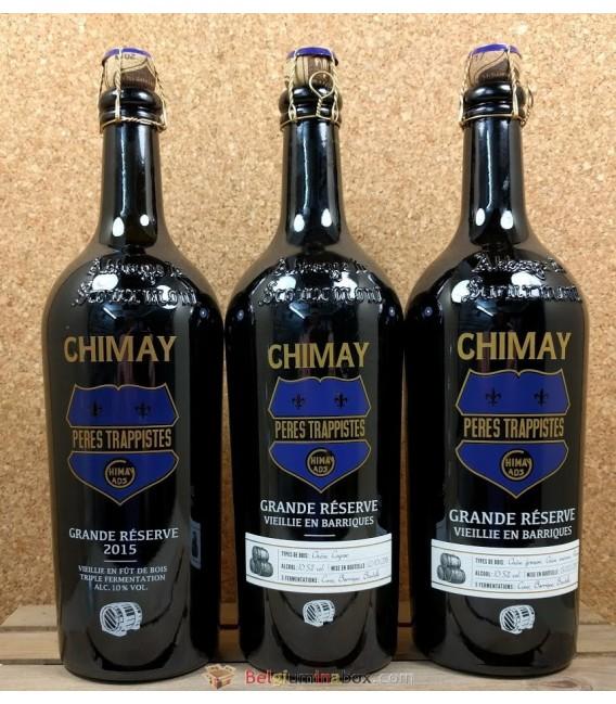 Chimay Grande Réserve Oak Aged vintage 2015-2016-2017 3-pack