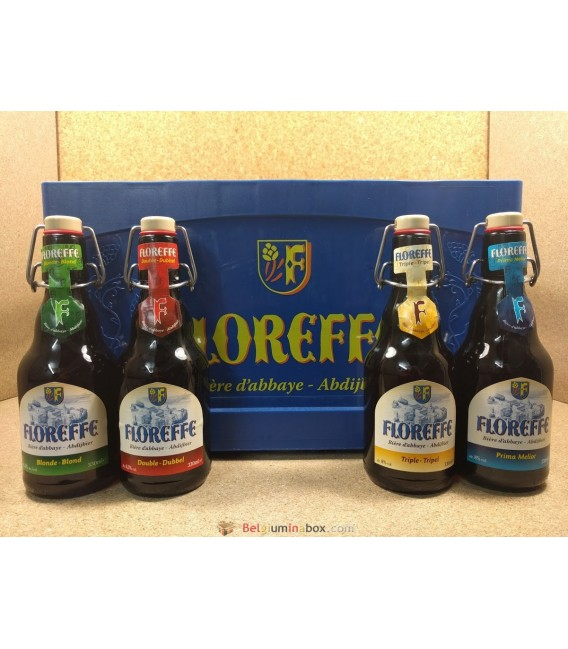 Floreffe mixed crate (Blonde-Double-Prima Melior-Triple) 20 x 33 cl