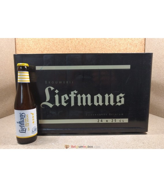 Liefmans Yell'Oh on the rocks full crate 24 x 25 cl